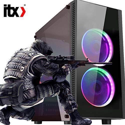 Pc ITX Gamer Intel i3 7100, Geforce Gtx 1050 2gb, 8gb DDR4, 400w 80Plus