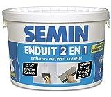 Semin A06057 Enduit 2 en 1 Multifonctions - Joint et Lissage de la Plaque...