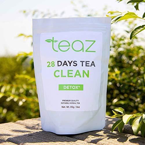 Teaz 28 Days Detox - Clean Tea | 85g Loose Leaf | Slim Tea for Weight Loss | Detox Tea | Diet & Fat Loss Tea | Cleanse Tea | Natural Dietary Supplement | For More Successful Diet (Detox Tea) 2