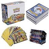 324 Piezas Pokemon Cartas, Juego de Cartas, Tarjetas de Pokemon, 36 Piezas GX Cartas, Sun & Moon Series y UnbrokenBonds Series