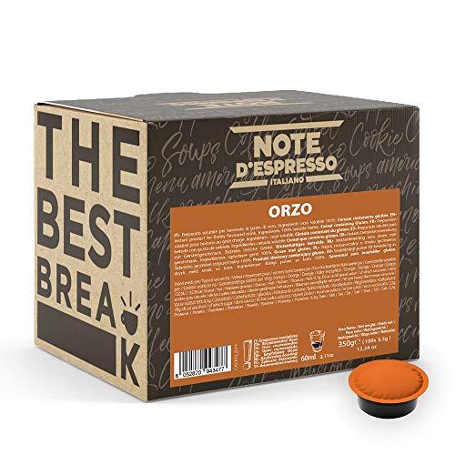 Note D'Espresso - Bevanda All'Orzo - Capsule per Macchine Lavazza* e a Modo Mio* - Confezione da 100 X 3.5g