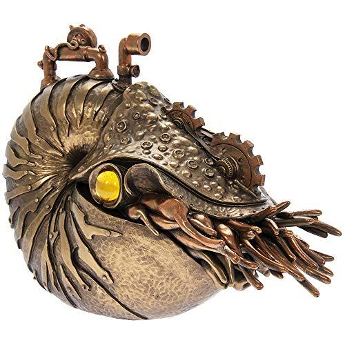 Steampunk Fantasy Nautilus - Bronze effect finish