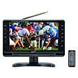 SuperSonic SC-499 Portable Widescreen LCD Display with Digital TV Tuner, USB/SD Inputs and AC/DC...