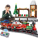 PANLOS RC Toy Train Set for Kids Boys Girls 6 7 8 9+ Years Old STEM Building Learning Christmas Train Blocks Bricks with 2.4GHz Remote Control 1217PCS Tight Fit and Compatible with All Major Brands