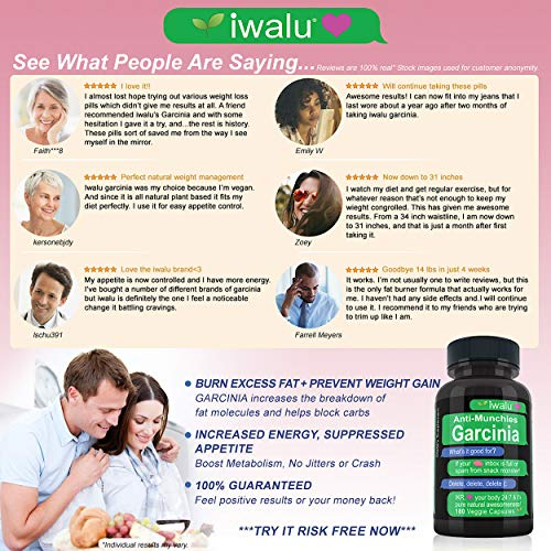 Best Weight Loss Products That Work: Appetite Suppressant for Women, Garcinia Cambogia Extract Bloating Relief and Weight Loss, Best Fat Burner for Women Weight Loss to Lose Belly Fat Fast Women 3 PK 7