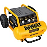 DEWALT Air Compressor, 225-PSI Max, Hand Carry with Wheels, 4-1/2 Gallon (D55146)