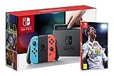 Console Nintendo Switch avec Joy-Con - rouge néon/bleu néon FIFA 18