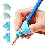 Guide Doigt, Dsaren 4 Pièces Grips pour Crayon Ergonomique Aide écriture...