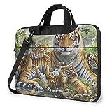 Jungle Tigers Cub Maletín para portátil Maletín Bandolera Mesenger