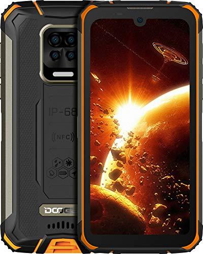 "DOOGEE S59 Pro Unlocked Rugged Smartphone 10050mAh Battery 4GB + 128GB Unlocked Cell Phones 2W Loud Speaker 16MP Camera Android 10 5.71"" Screen Helio P22 Waterproof Phone Face Fingerprint Unlocking"