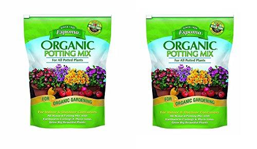 Espoma AP8 8-Quart Organic Potting Mix (1, Tw Pck)