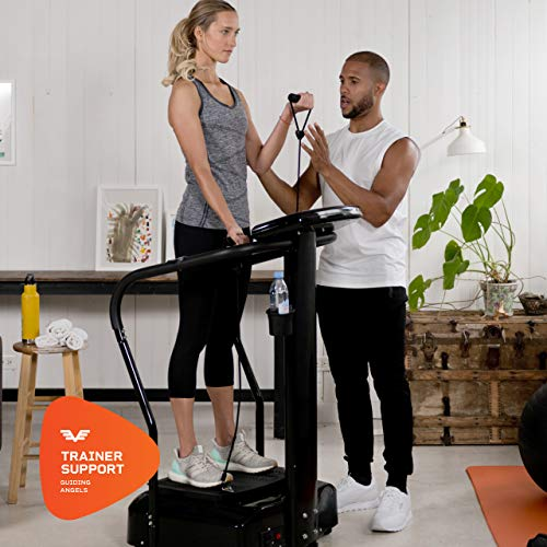 LifePro Rhythm Viberation Plate Machine - Professional Whole Body Vibration Platform for Home Fitness - Viberation Excersize Machine for Awesome Cardio Workout & Weight Loss 8