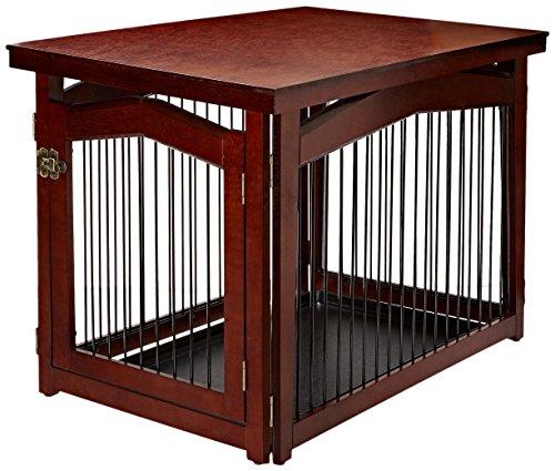 Merry Pet 2-in-1 Configurable Pet Crate and Gate,...