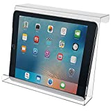Made in The USA Polycarbonate Acrylic Universal Treadmill Book Holder iPad & Tablet Magazine Rack Bookholder, EReader Book Holder Reading Rack, Compact iPad & Tablet, Kindle, Nook, Magazine