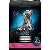 Purina Pro Plan Sensitive Stomach Dry Dog Food, FOCUS Sensitive Skin & Stomach Salmon & Rice Formula - 16 lb. Bag