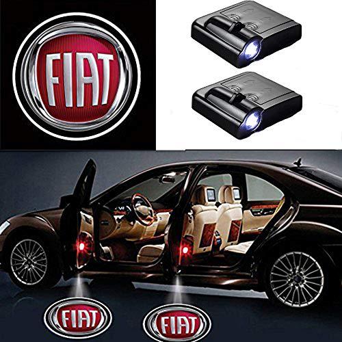 MIVISO 2pcs Auto Universale proiezione LED proiettore Porta Shadow Logo Benvenuto Luce lampade luci...