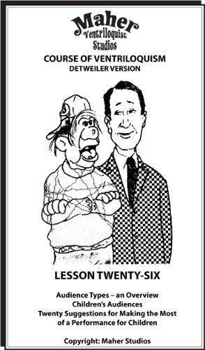Amazon.com: Maher Course Of Ventriloquism - Lesson Twenty-Six ...