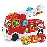 VTech - ABC, mon camion SOS pompiers - camion interactif enfant - camion de...