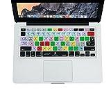 XSKN Cover per tastiera Adobe Photoshop PS CC Scorciatoie in inglese Skin in silicone per 13 '15' 17 'MacBook, MacBook PRO, MacBook Air (pubblicato prima del 2014) Versione USA e UE