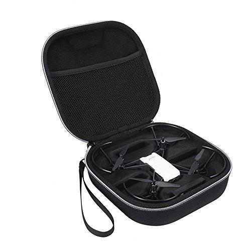 Xberstar DJI Tello ケース バッグ キャリングケース コンパクト バッテリ4個収納 携帯に便利