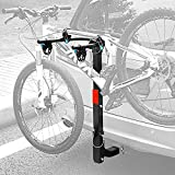 Leader Accessories Hitch Mounted 2 Bike Rack Bicycle Carrier Racks Foldable Rack for Cars, Trucks, SUV's and Minivans with 2' Hitch Receiver