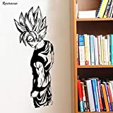 Hjnsxs Calcomanías de Vinilo para Pared Bolas de Colores Dibujos Animados Anime Art Pegatinas de Pared habitación de los niños decoración del hogar Dormitorio de niño-50X128cm