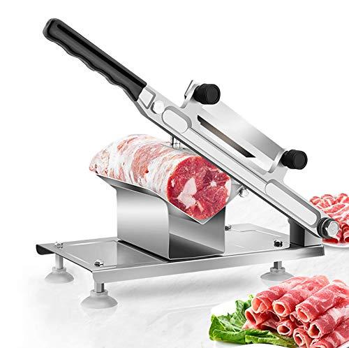 BAOSHISHAN Affettatrice di Carne Congelata Tagliapasta per affettare Carne per Verdure in Acciaio Inossidabile