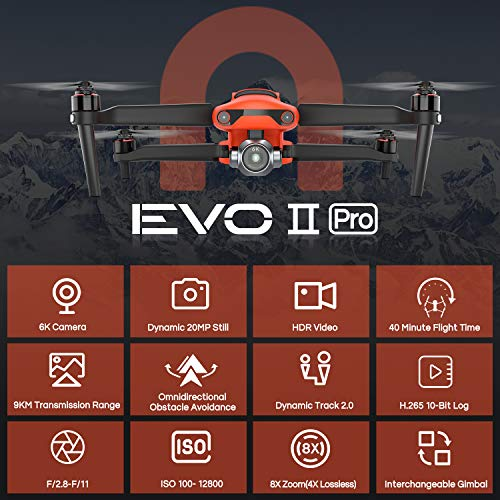 Product Image 2: Autel Robotics EVO 2 Pro Drone 6K HDR Video for Professionals Rugged Bundle with $498 Value Accessories Kit (2021 Newest Ver.)