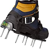GoPPa Lawn Aerator Shoes Comfort – Fully Assembled Shoes Sole & Easiest to FIT! Ready for aerating Your Yard, Lawn, Roots & Grass!