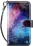 ULAK Coque iPod Touch 7/6/5, Étui Housse en Cuir PU Protection avec Porte...