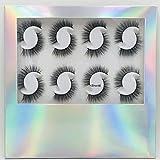 HBZGTLAD NEW 12 Pairs 3D Handmade Fake Eyelashes Natural short Thick Daily Makeup Thick Cross Eyelashes Eye Mink Lashes (short6)