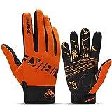 INBIKE MTB BMX ATV Mountain Bike Bicycle Cycling Gloves Men Orange