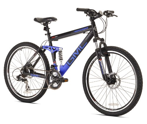 GMC Topkick Dual Suspension Mountain Bike, 26-Inch