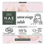 N.A.E. - Nettoyant Démaquillant Visage Solide - Certifié Bio - Formule Végane - 78...