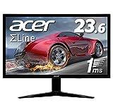Acer ゲーミングモニター SigmaLine 23.6インチ KG241Qbmiix 1ms 75Hz TN FPS向き フルHD FreeSync HDMIx2 スピーカー内蔵 ブルーライト軽減