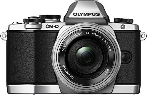 OLYMPUS ミラーレス一眼 OM-D E-M10 ED 14-42mm F3.5-5.6 EZレンズキット シルバー OM-D E-M10 LKIT SLV