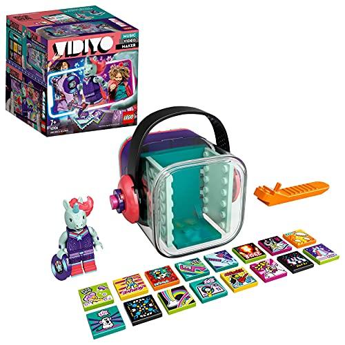 LEGO VIDIYO Unicorn DJ BeatBox Creatore Video Musicali con Unicorno, Giocattoli per Bambini, App Realt Aumentata, 43106