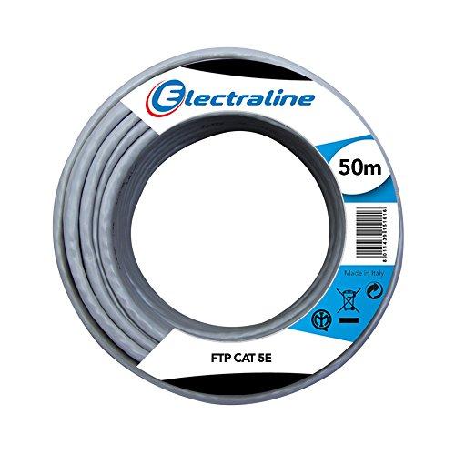 Electraline 101843 Ethernet Cavo di Rete FTP...