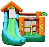 Casa de rebote para niños castillo inflable al aire libre gran escala casa...