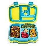 Bentgo Kids Brights - Fiambrera para niños, 5 compartimentos, estilo bento, para niños – tamaños ideales para niños de 3 a 7 años – sin BPA y materiales aptos para alimentos