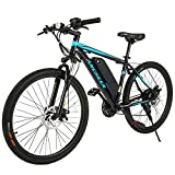 ANCHEER Electric Bike Commuter EBike 350W 26'' Electric Mountain Bicycle, 20MPH Adults Ebike with...