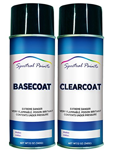 Spectral Paints Compatible/Replacement for Toyota 1E3 Phantom Gray Pearl 12 oz. Aerosol Spray Paint and Clear Coat