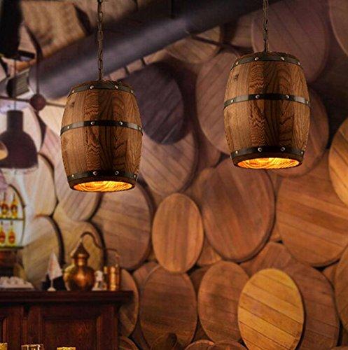 In ottone antico lampadario,luci a soffitto per soggiorno lampadario,Vintage botti di legno...