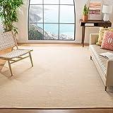 Safavieh Montauk Collection MTK250D Flat Weave Cotton Area Rug, 6' x 9', Gold