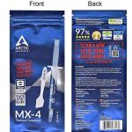 ARCTIC MX-4 (incl. Spatula, 4 Grams) – Thermal Compound Paste, Carbon Based High Performance, Heatsink Paste, Thermal…