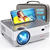 Native 1080P WiFi Bluetooth Projector, DBPOWER 8000L Full HD Outdoor Movie Projector Support...
