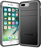 Pelican iPhone 7 Plus Case (Black/Light Gray)