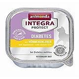 animonda Integra Protect - Diabetes con hígado de pollo, 16 x 100 g