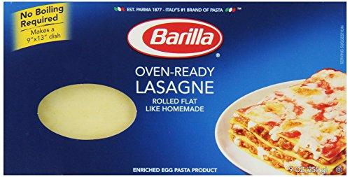 No-boil Lasagna Noodles