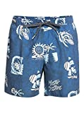 Quiksilver™ Island Pulse 15' - Short de Bain - Homme - Bleu (Navy Blazer), M